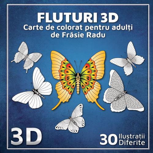 Fluturi 3D - coperta 1