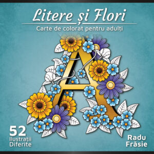 Litere si FLori - Coperta 1