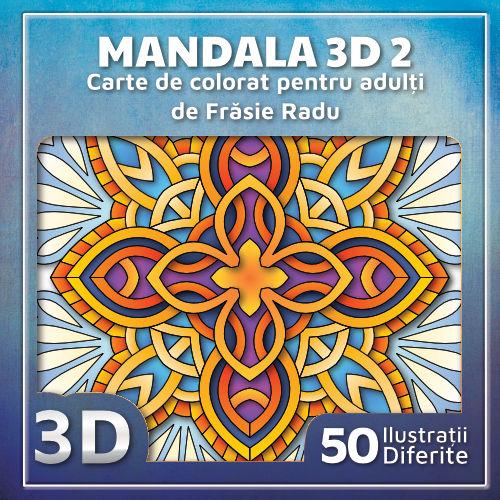 Mandala 3D 2 - Coperta 1